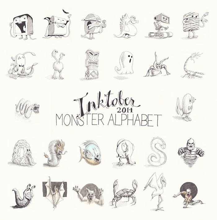 Inktober-2014