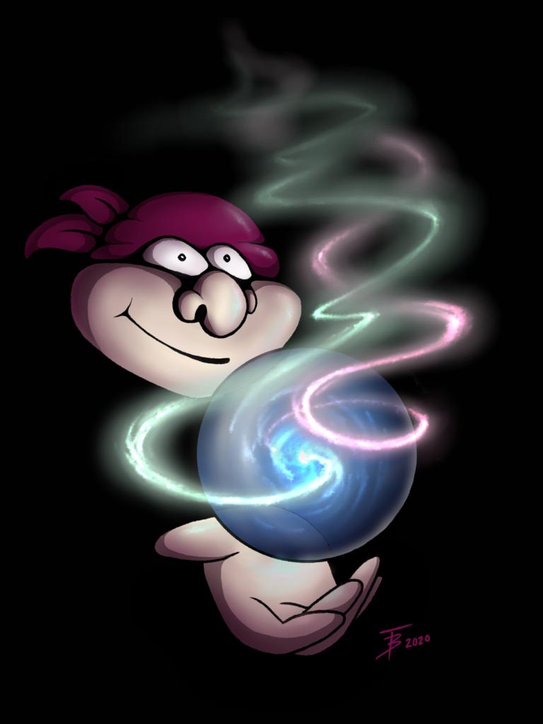 Magic Man - the Crystal Ball